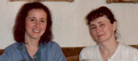 Jenny B, & Jo when younger